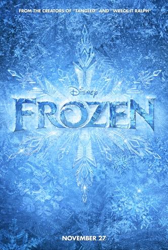 Disney Frozen Movie Poster