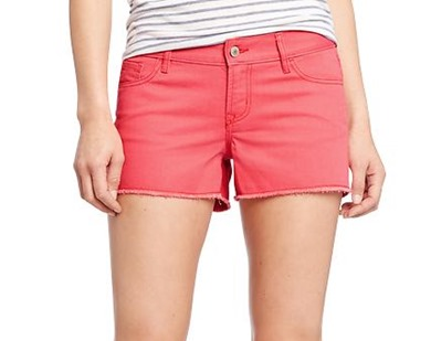 watermelon colored shorts for summer
