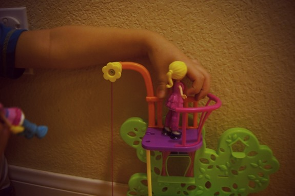 Playing with Polly Pockets