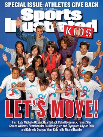 Sports Illustrated Kids July 2013 cover Michelle Obama Serena Williams Gabrielle Douglas