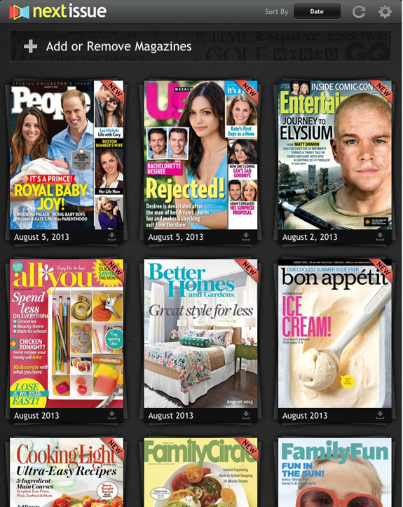 The Neater, Greener Way to Enjoy Magazines
