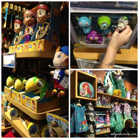 Disney Store Merchandise