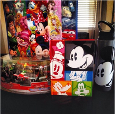 Disney Store Prize Pack