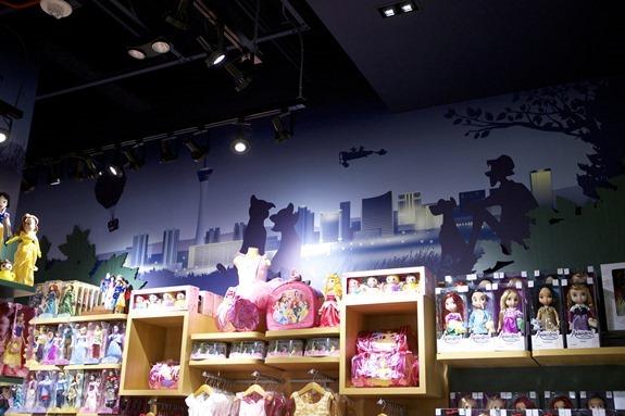 Disney Store Skyline