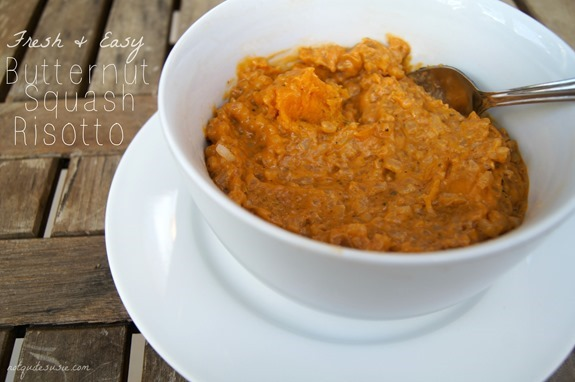 Fresh & Easy Butternut Squash Risotto