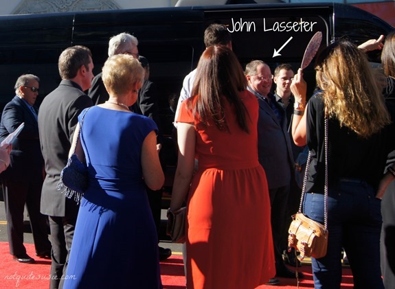 John Lasseter at the #DisneyPlanesPremiere