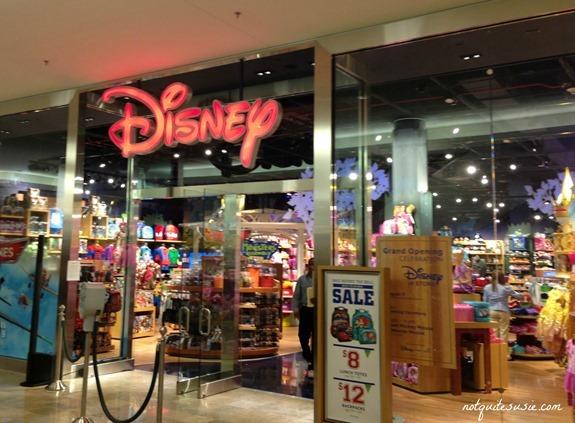 Las Vegas New Disney Store Fashion Show Mall