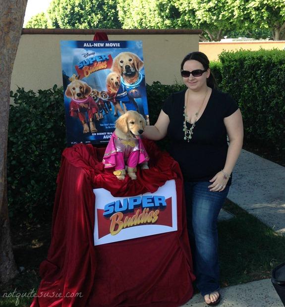 Meeting Cooper who plays Rosebud in Super Buddies!
