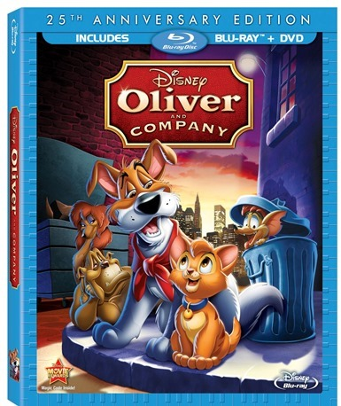 Oliver and Company Box Art