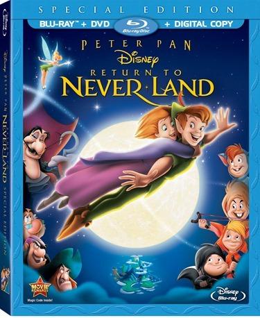 Return To Neverland Box Art
