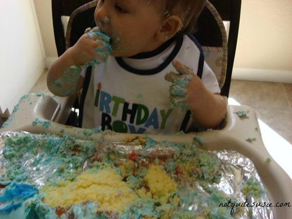 Shane's 1st birthday