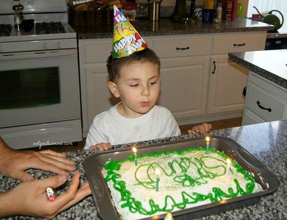 Shane's 3rd birthday