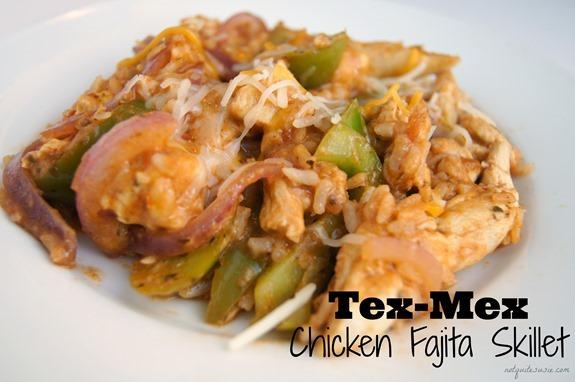 Tex-Mex Chicken Fajita Skillet