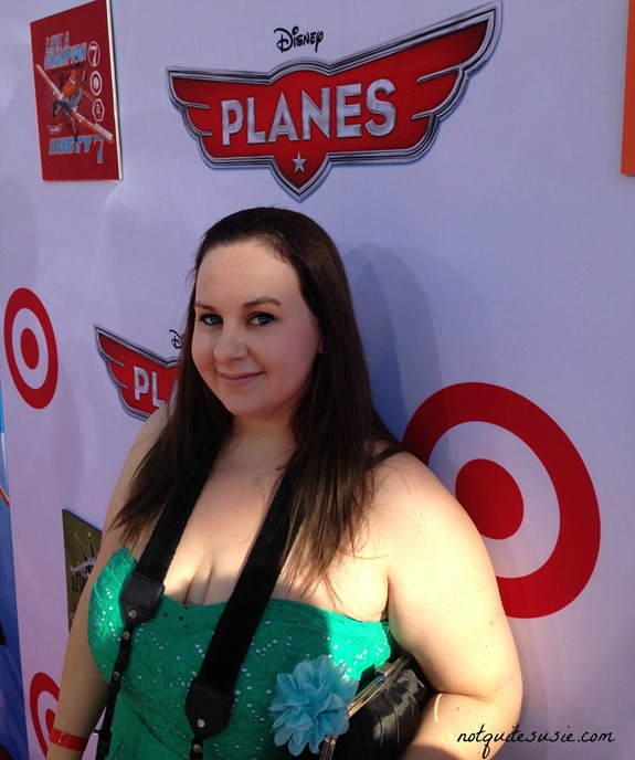 Walking the red carpet at the Disney's Planes Premiere #DisneyPlanesPremiere