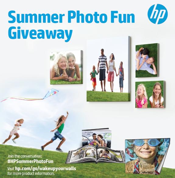 #HPSummerPhotoFun giveaway