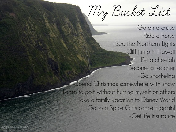 My Bucket List #GenworthUSA