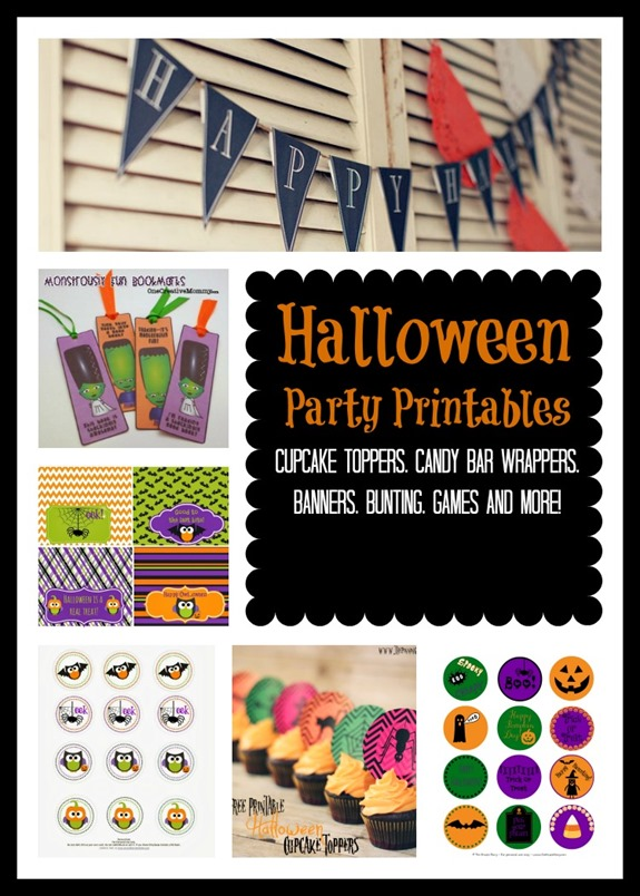 Host a DIY Halloween Party- Free Halloween Printables!
