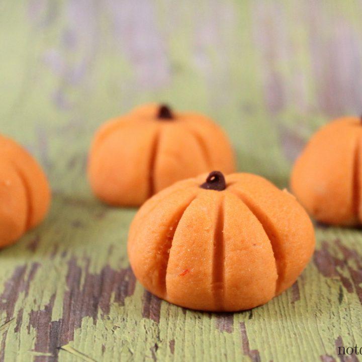 No Bake Peanut Butter Pumpkin Bites