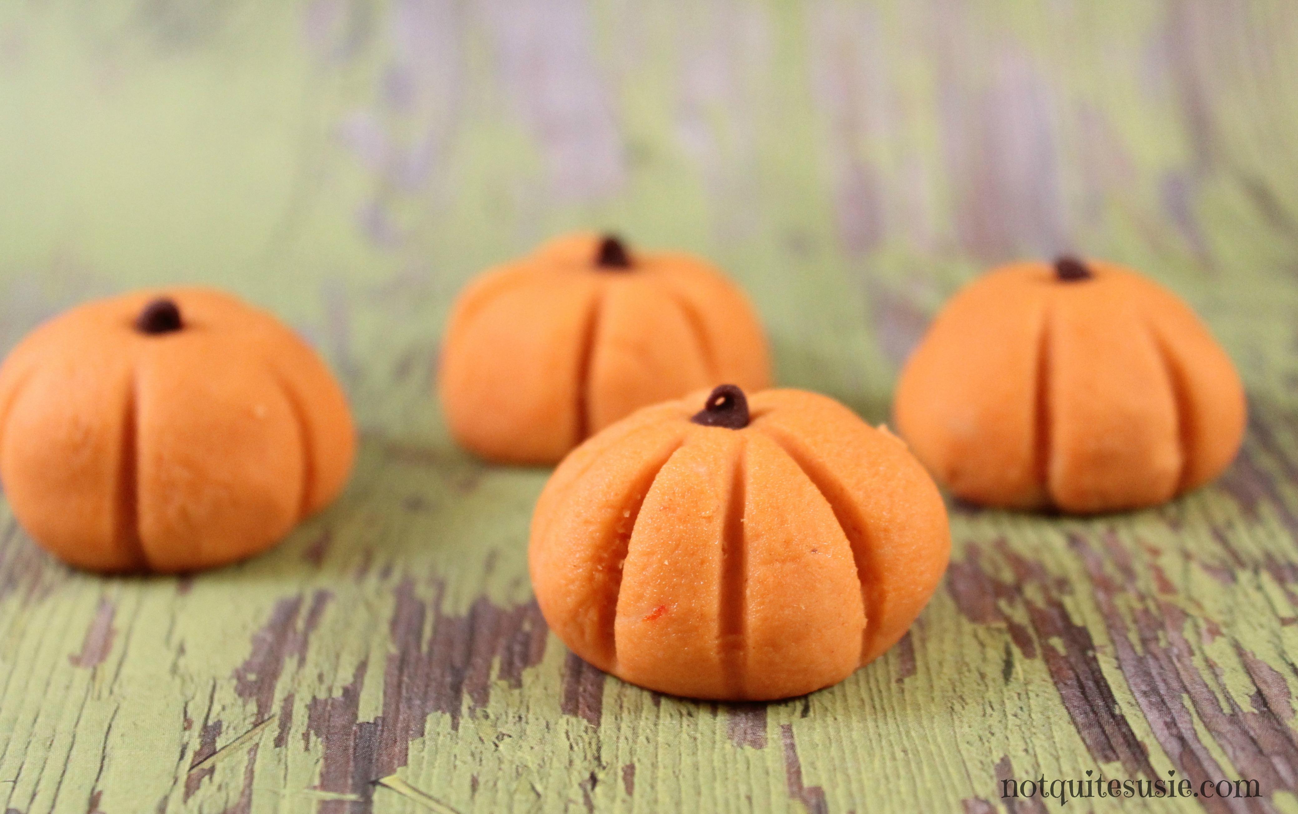 easy halloween recipe no bake peanut butter pumpkin bites not quite susie homemaker