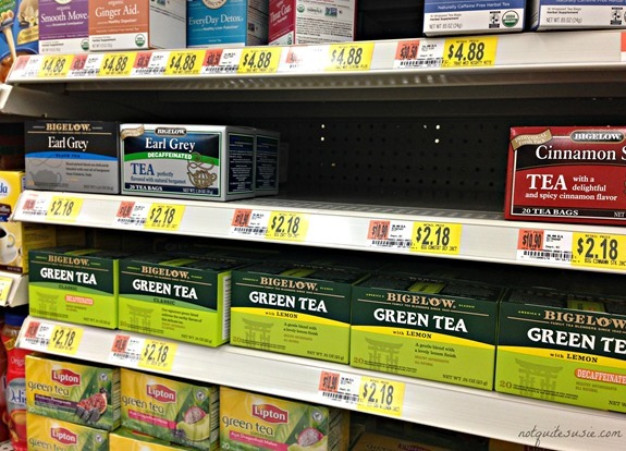 Bigelow Tea selection at Walmart #AmericasTea #shop