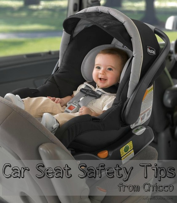 Car Seat Safety Tips From Chicco Advocate Julie Prom