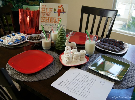 Elf on the Shelf North Pole Breakfast Spread  #FrozenFun #shop #cbias