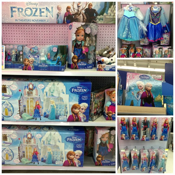 FROZEN merchandise at Walmart  #FrozenFun #shop #cbias