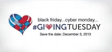 black friday cyber monday giving tuesday