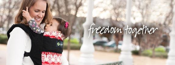 freedom together- safe babywearing