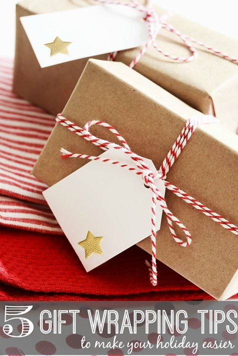 5 Gift Wrapping Tips to Make Your Holiday Easier #Christmas @NotQuiteSusie