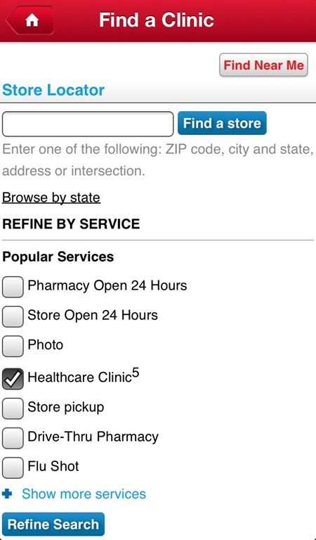 Find a Walgreens Clinic #WalgreensApp #shop