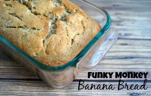 Funky Monkey Banana Bread Recipe