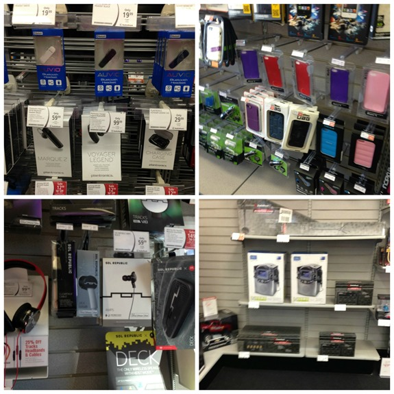Holiday Gift Selection at RadioShack