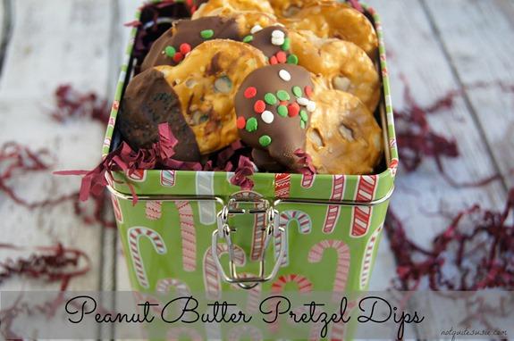 Peanut Butter Pretzel Dips Recipe #HolidayButter #shop
