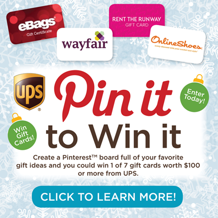 Pin it to Win It with UPS