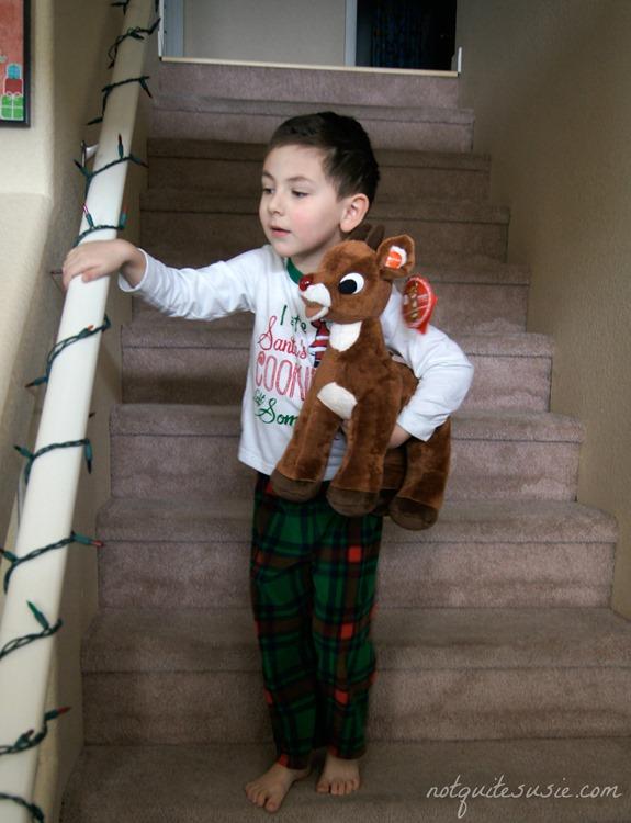 Shane on Christmas morning