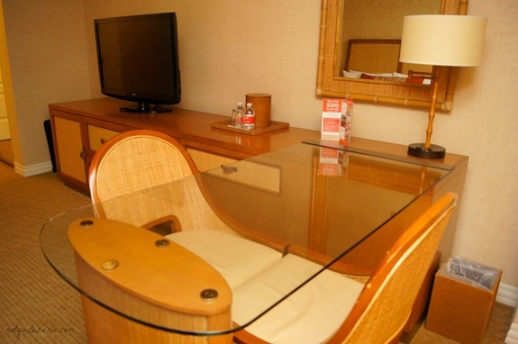 Tropicana DoubleTree Desk and Dresser
