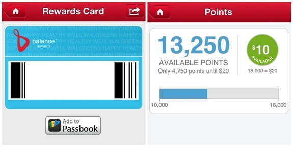 Walgreens Balance Rewards Card and Points #WalgreensApp #shop