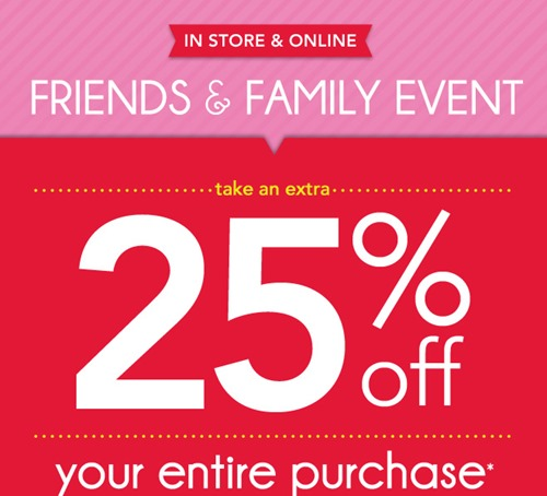 Stocking Up &Saving Big with Carter's Friends & Family Sale! {With 25% Off Carter's Printable Coupon}
