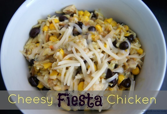 Cheesy Fiesta Chicken Recipe & 10 Pc. Cookware Set Giveaway!
