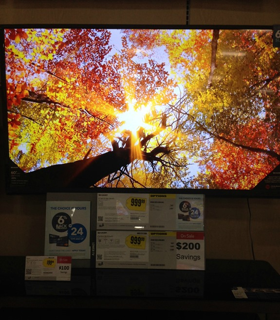 Tv at Best Buy #onebuyforall #shop
