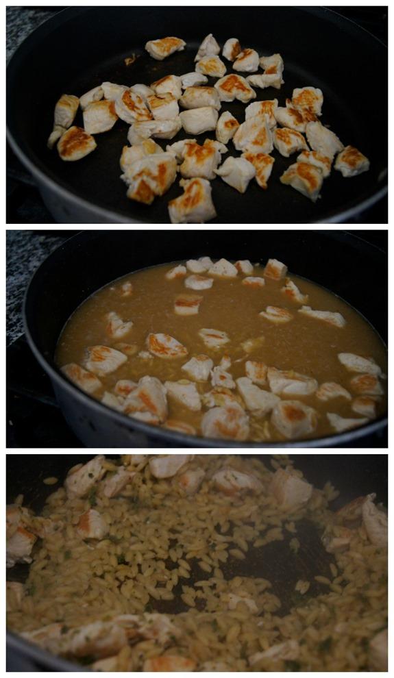 Cooking the Velveeta Cheesy Skillet #shop #CookinComfort