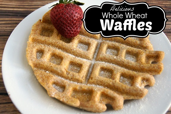 Delicious Whole Wheat Waffles