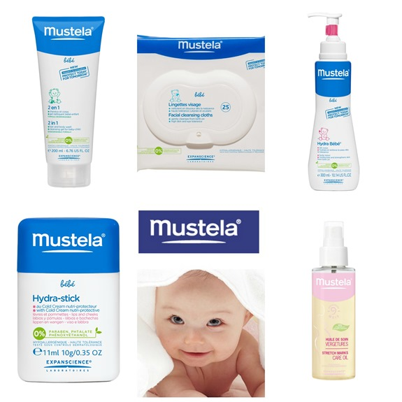 Mustela Product Collage