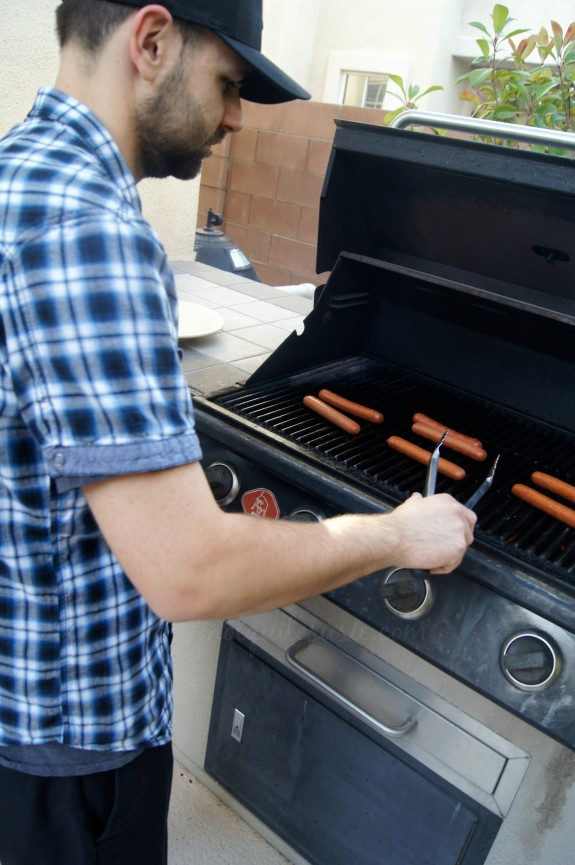 Grilling Park's Finest Frankfurters from Ball Park #StartYourGrill #shop