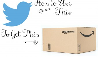 Tweet Now, Buy Later with #AmazonCart!