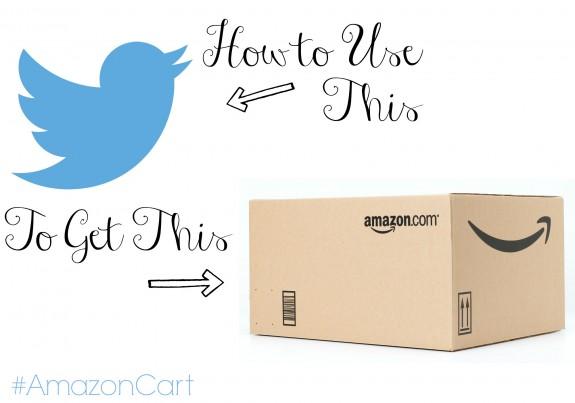 How to Use Twitter to Order On Amazon #AmazonCart #shop #cbias