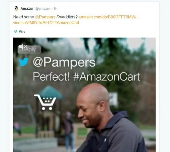 Pampers #AmazonCart #cbias #shop