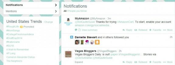 To enable your account tweet #AmazonCart #cbias #shop