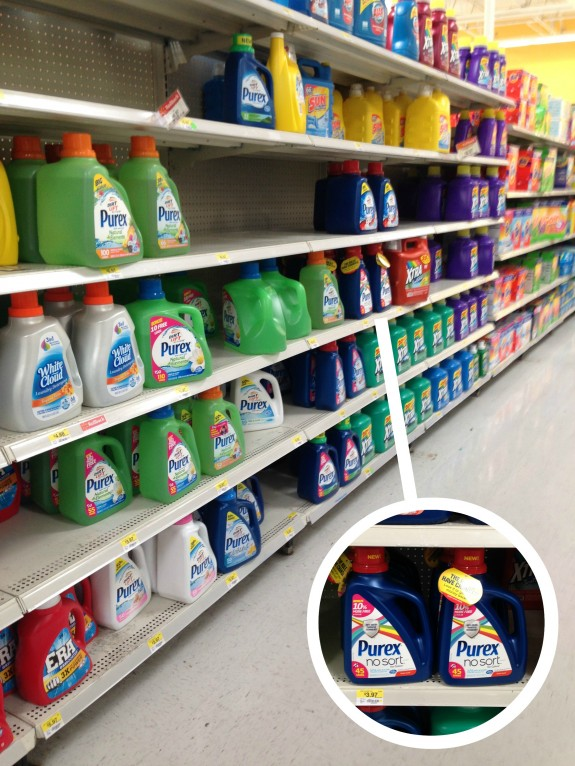 Purex No Sort for Colors at Walmart #LaundrySimplified #shop